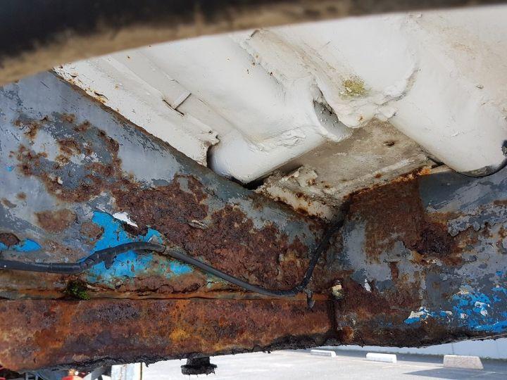 Remorque Citerne hydrocarbures Citerne acier 28000 litres BLANC - GRIS Occasion - 20