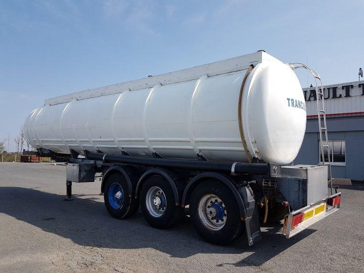 Remorque Indox Citerne hydrocarbures Citerne acier 28000 litres BLANC - GRIS - 4