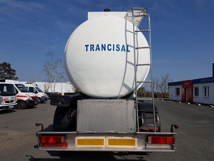 Remorque Indox Citerne hydrocarbures Citerne acier 28000 litres BLANC - GRIS - 5