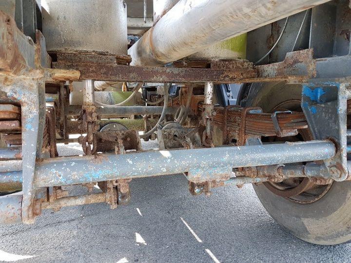 Remorque Indox Citerne hydrocarbures Citerne acier 28000 litres BLANC - GRIS - 16