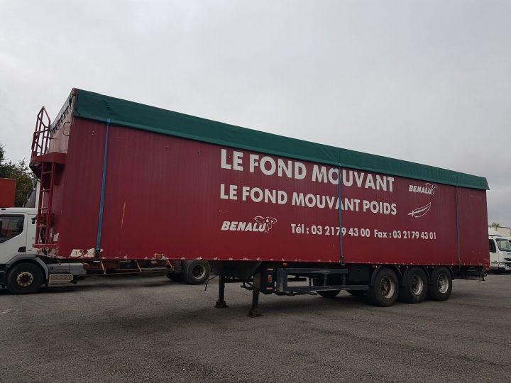 Remorque Fond mouvant FOND MOUVANT BENALU 90m3 ROUGE Occasion - 1