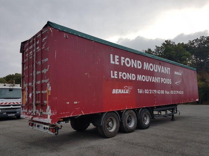 Remorque Fond mouvant FOND MOUVANT BENALU 90m3 ROUGE Occasion - 2
