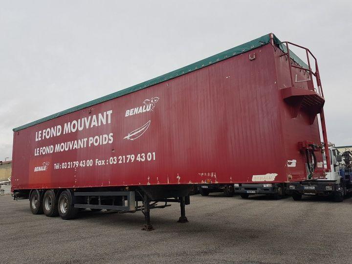 Remorque Fond mouvant FOND MOUVANT BENALU 90m3 ROUGE Occasion - 3