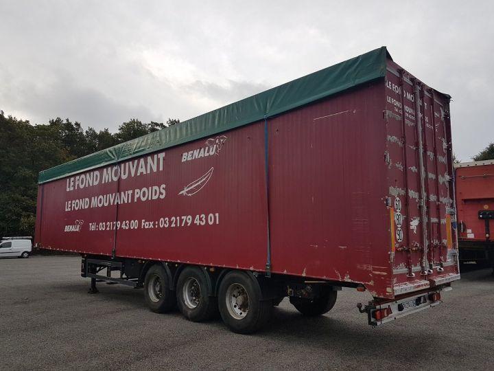 Remorque Fond mouvant FOND MOUVANT BENALU 90m3 ROUGE Occasion - 4