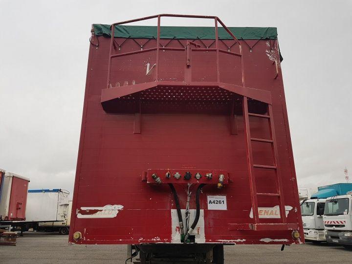 Remorque Fond mouvant FOND MOUVANT BENALU 90m3 ROUGE Occasion - 5