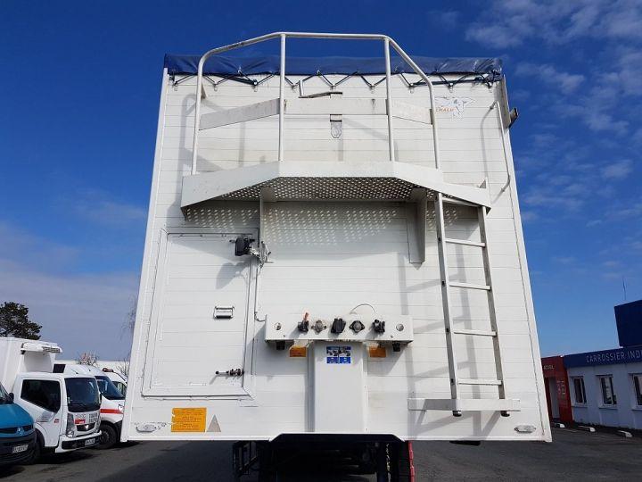 Remorque Fond mouvant JUMBOLINER 90m3 BLANC et BLEU Occasion - 5