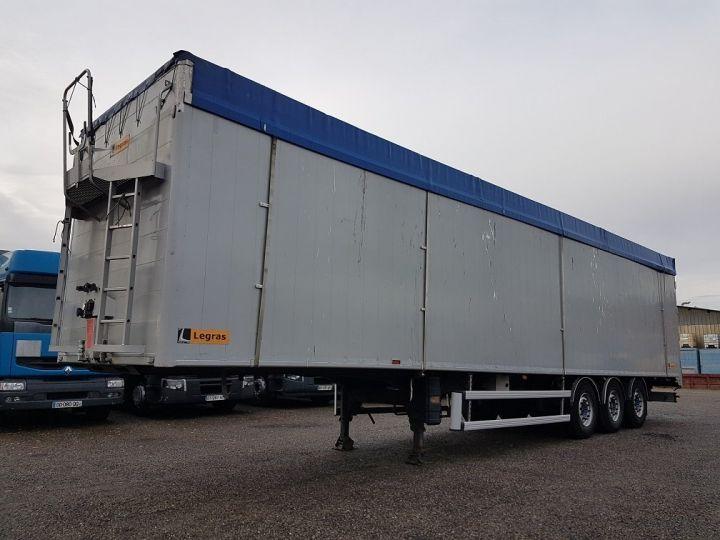 Remorque Legras Fond mouvant FMA 90m3 GRIS - 1
