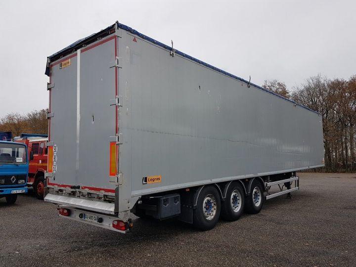 Remorque Legras Fond mouvant FMA 90m3 GRIS - 2