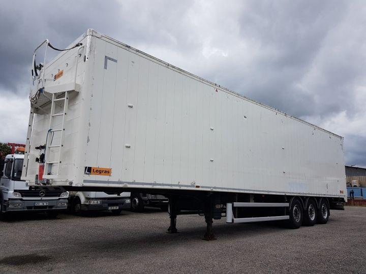 Remorque Legras Fond mouvant FMA 90m3 BLANC - 1