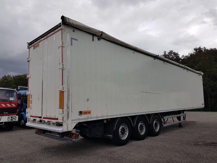Remorque Legras Fond mouvant FMA 90m3 BLANC - 2