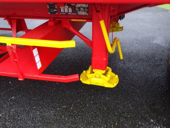 Remorque General Trailers Plateau Rouge et jaune - 5