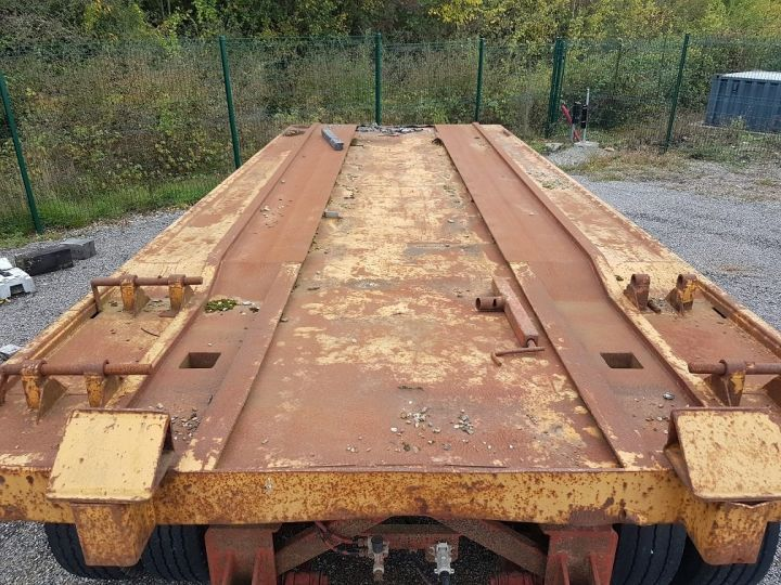 Remorque Kaiser Plateau Remorque PLATEAU PORTE-BENNE 2 essieux JAUNE - 6