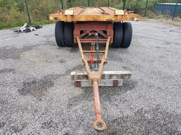Remorque Kaiser Plateau Remorque PLATEAU PORTE-BENNE 2 essieux JAUNE - 8