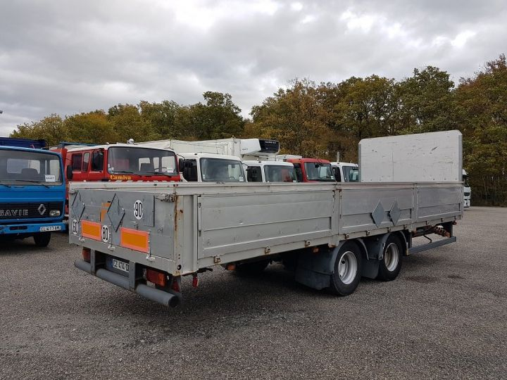 Remorque Trailor Plateau Plateau surbaissé à ridelles 7m30 - 2 essieux GRIS - 2