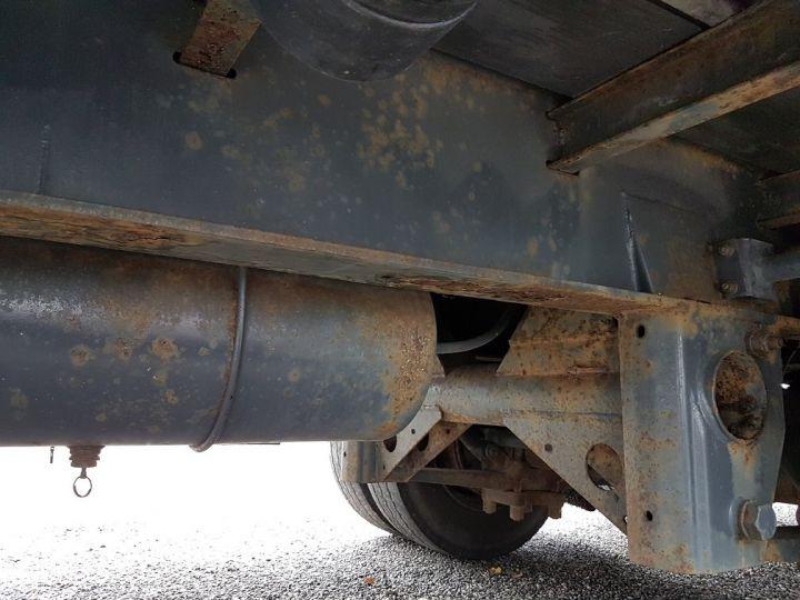 Remorque Trailor Plateau Plateau surbaissé à ridelles 7m30 - 2 essieux GRIS - 16