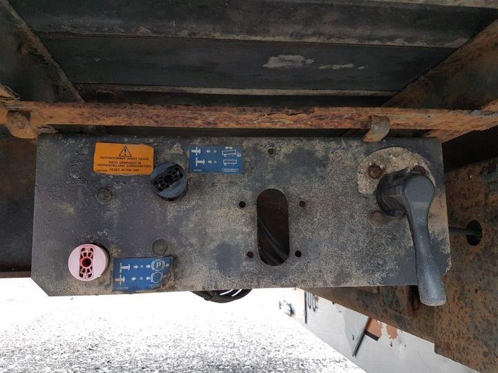 Remorque Trailor Plateau Plateau surbaissé à ridelles 7m30 - 2 essieux GRIS - 18