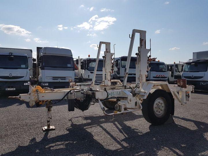 Remorque Louault Porte bobines PORTE TOURET 5T50 EXTENSIBLE BLANC - 1