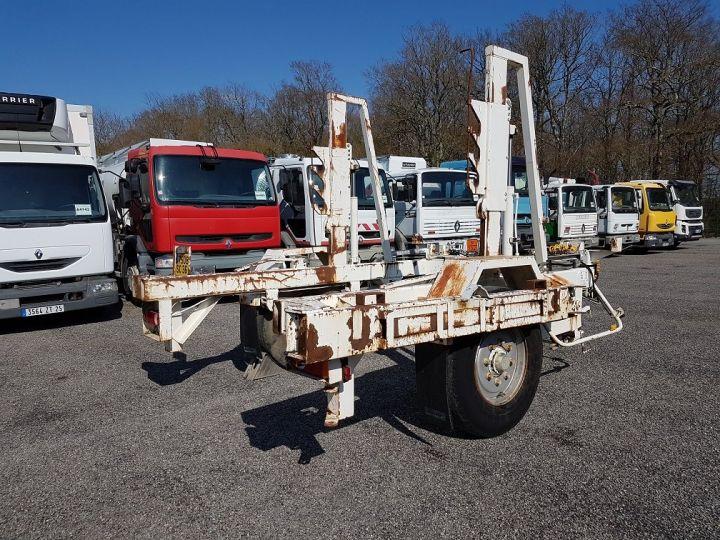 Remorque Louault Porte bobines PORTE TOURET 5T50 EXTENSIBLE BLANC - 3