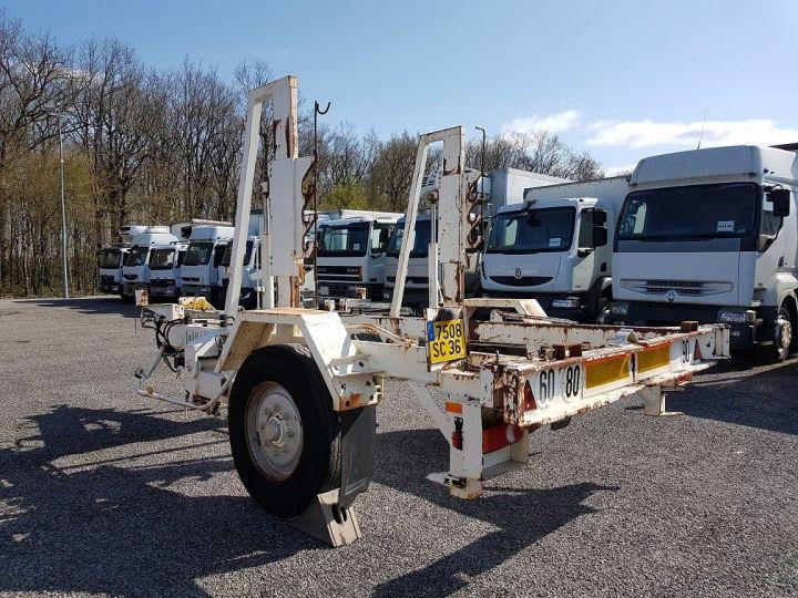 Remorque Louault Porte bobines PORTE TOURET 5T50 EXTENSIBLE BLANC - 5