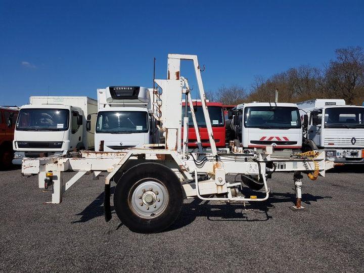 Remorque Louault Porte bobines PORTE TOURET 5T50 EXTENSIBLE BLANC - 6