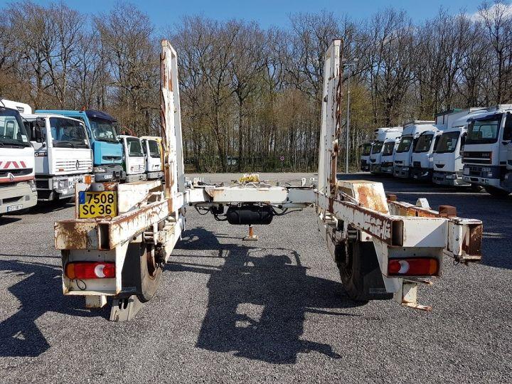 Remorque Louault Porte bobines PORTE TOURET 5T50 EXTENSIBLE BLANC - 8
