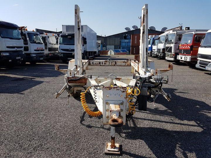 Remorque Louault Porte bobines PORTE TOURET 5T50 EXTENSIBLE BLANC - 9