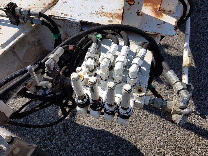 Remorque Louault Porte bobines PORTE TOURET 5T50 EXTENSIBLE BLANC - 17
