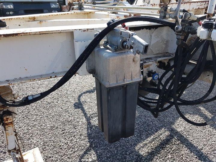 Remorque Louault Porte bobines PORTE TOURET 5T50 EXTENSIBLE BLANC - 18