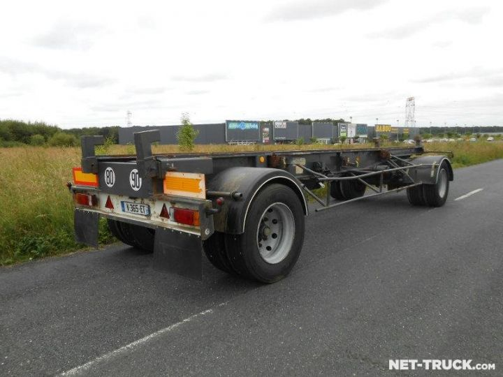 Remorque Porte container  Occasion - 2