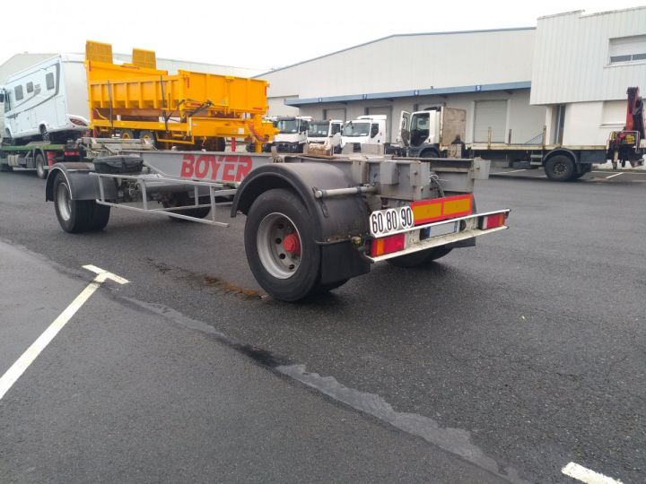 Remorque Fruehauf Porte container Gris - 4