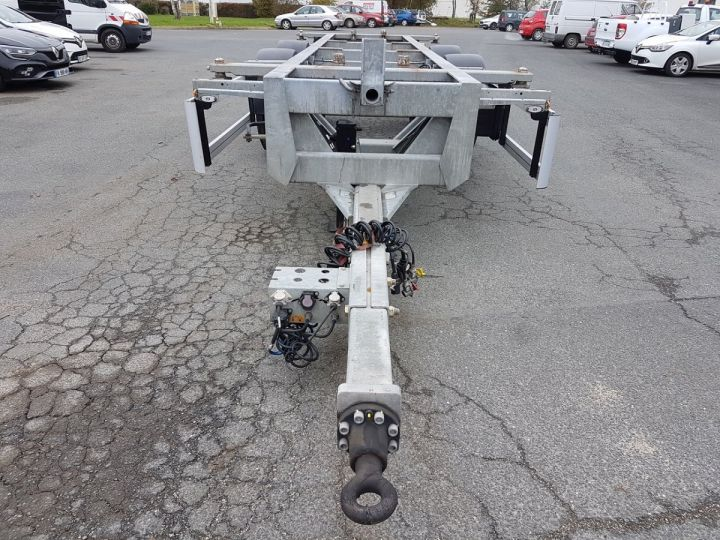 Remorque Fruehauf Porte container Remorque 2 essieux PORTE-CAISSE MOBILE GRIS - 6