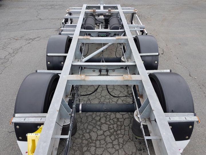 Remorque Fruehauf Porte container Remorque 2 essieux PORTE-CAISSE MOBILE GRIS - 7