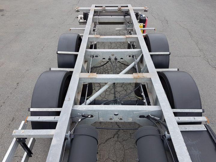 Remorque Fruehauf Porte container Remorque 2 essieux PORTE-CAISSE MOBILE GRIS - 8