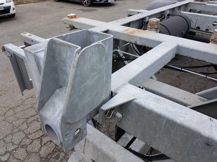 Remorque Fruehauf Porte container Remorque 2 essieux PORTE-CAISSE MOBILE GRIS - 10