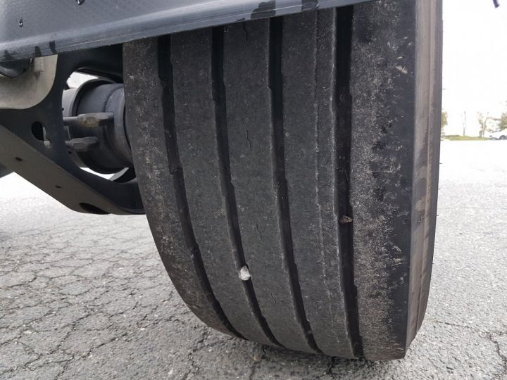 Remorque Fruehauf Porte container Remorque 2 essieux PORTE-CAISSE MOBILE GRIS - 15