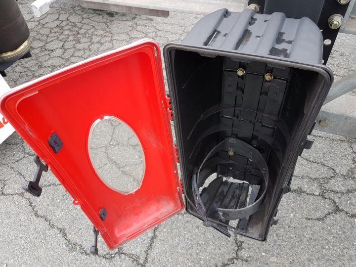 Remorque Fruehauf Porte container Remorque 2 essieux PORTE-CAISSE MOBILE GRIS - 19