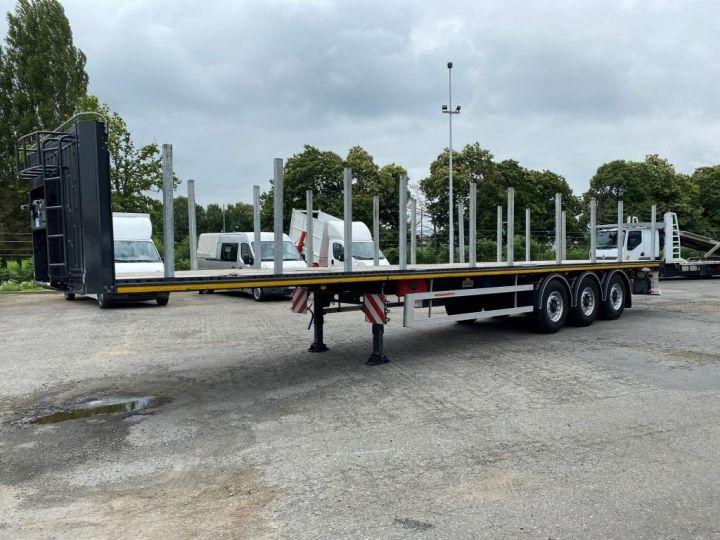 Remorque Kässbohrer Porte container KASSBOHRER 3 ESSIEUX PLATEAU MULTIMODAL PORTE CONTENEURS  - 3