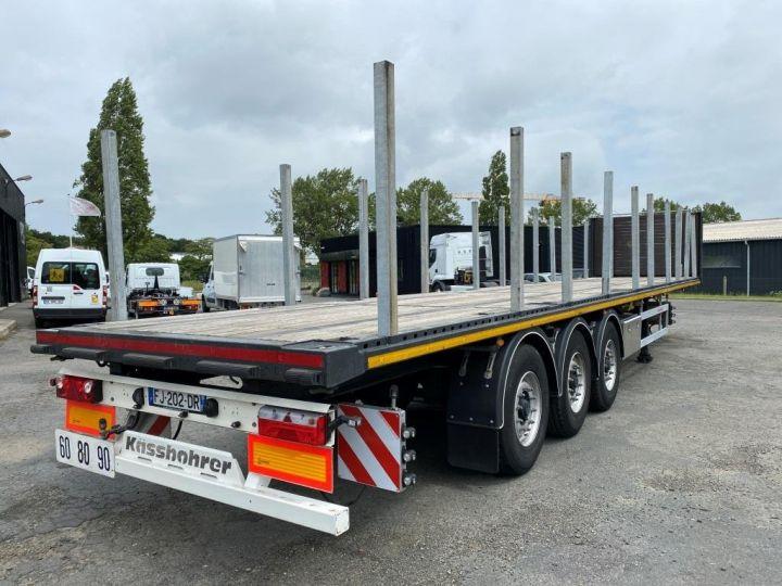 Remorque Kässbohrer Porte container KASSBOHRER 3 ESSIEUX PLATEAU MULTIMODAL PORTE CONTENEURS  - 4