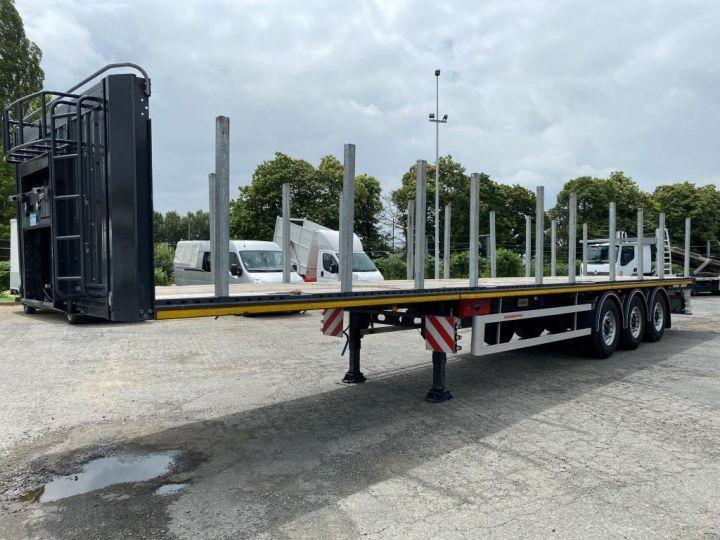 Remorque Kässbohrer Porte container KASSBOHRER 3 ESSIEUX PLATEAU MULTIMODAL PORTE CONTENEURS  - 6