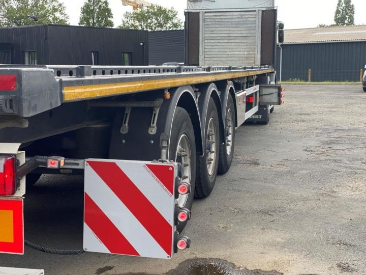 Remorque Kässbohrer Porte container KASSBOHRER 3 ESSIEUX PLATEAU MULTIMODAL PORTE CONTENEURS  - 10