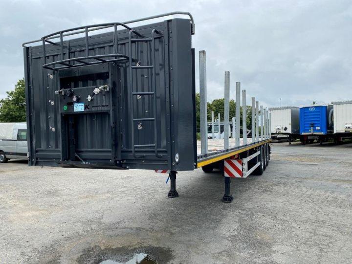 Remorque Kässbohrer Porte container KASSBOHRER 3 ESSIEUX PLATEAU MULTIMODAL PORTE CONTENEURS  - 21