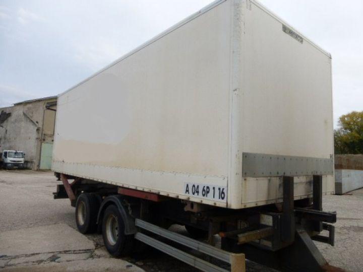 Remorque Lecitrailer Porte container LECITRAILER BLANC - 4
