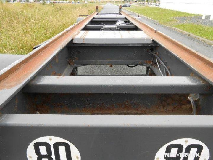 Remorque Pomiers Porte container PORTE-BENNE AMOVIBLE 7m. GRIS - 6