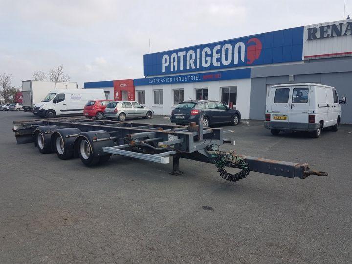 Remorque Porte container PORTE-CAISSE MOBILE 7m80 GRIS Occasion - 3