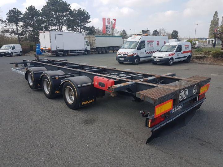 Remorque Porte container PORTE-CAISSE MOBILE 7m80 GRIS Occasion - 4