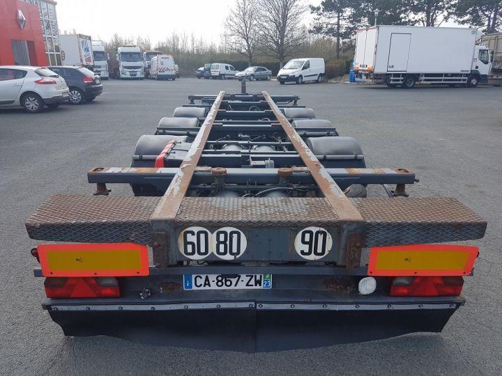 Remorque Porte container PORTE-CAISSE MOBILE 7m80 GRIS Occasion - 5