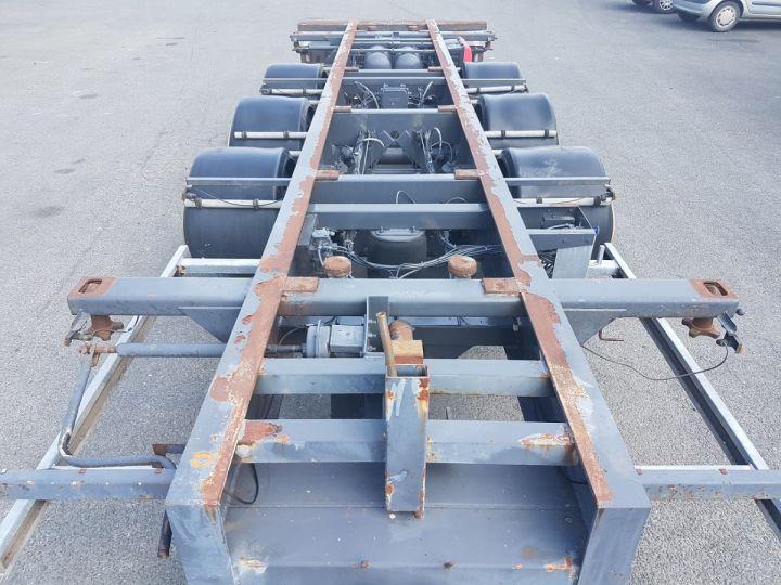 Remorque Porte container PORTE-CAISSE MOBILE 7m80 GRIS Occasion - 8