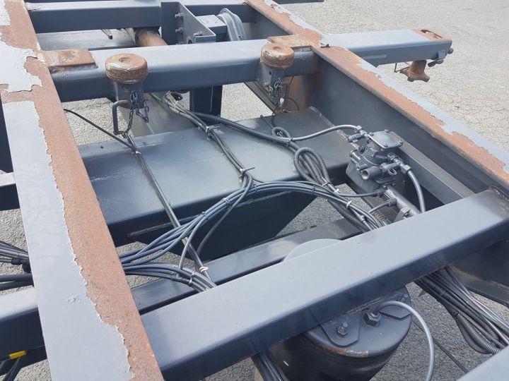 Remorque Porte container PORTE-CAISSE MOBILE 7m80 GRIS Occasion - 13