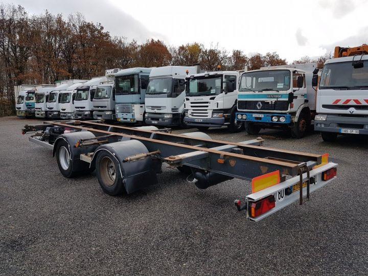 Remorque Samro Porte container Remorque 2 essieux PORTE-CAISSE MOBILE NOIR - 4