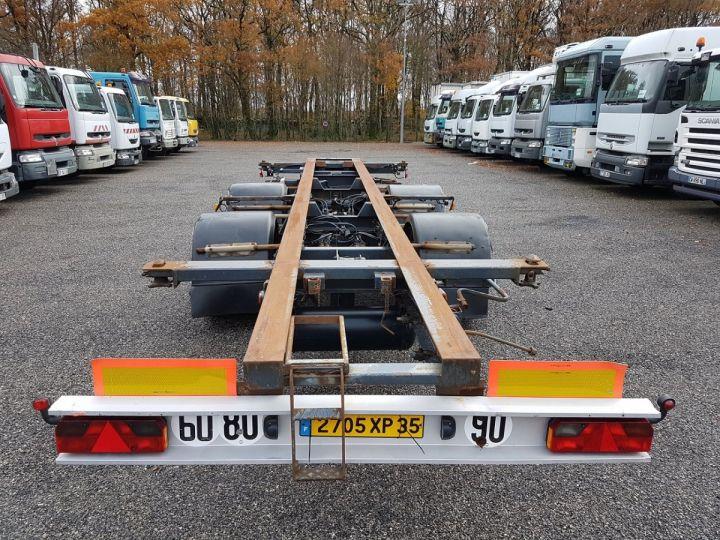 Remorque Samro Porte container Remorque 2 essieux PORTE-CAISSE MOBILE NOIR - 5